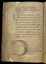 Psalms 100 and 101 with Collect, in a Psalter With Old English Translation